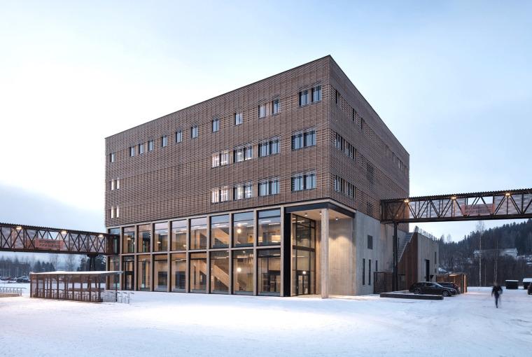 挪威科技大学Gjøvik校区教学楼
