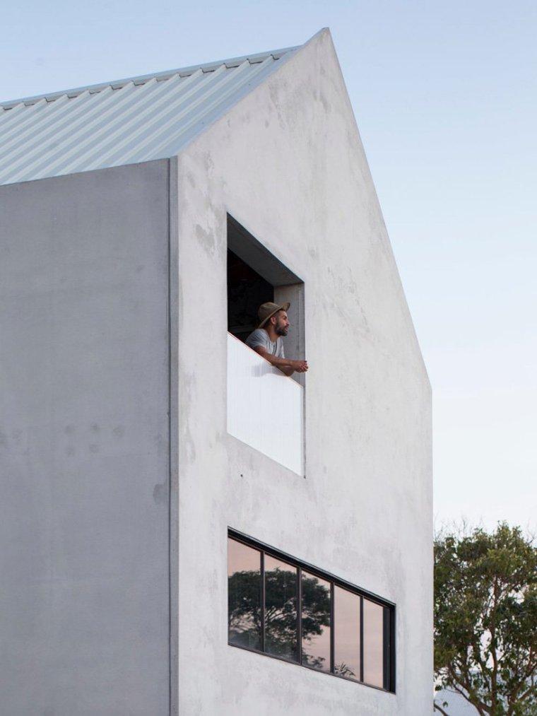 澳大利亚混凝土打造碳中和住宅-3