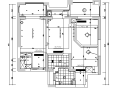 [浙江]北欧风格样板房设计施工图(附效果图)