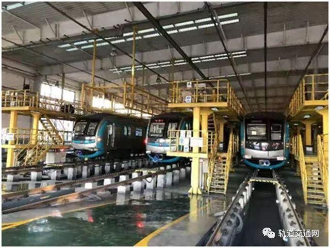 北京新添地铁大修基地,一年可检修列车330辆_3