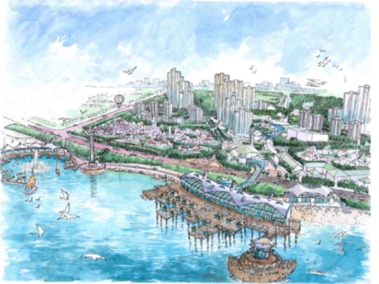 [山东]烟台元亨园海滨综合居住区规划设计方案文本