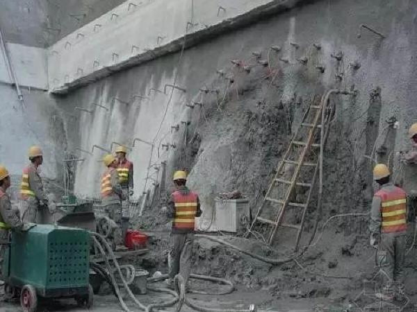 隧道超前小导管注浆作业的施工技术