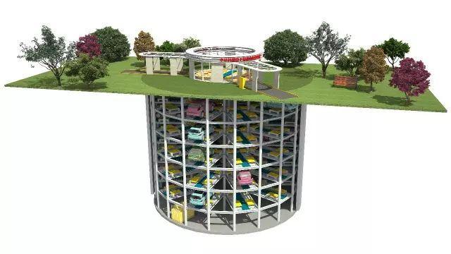 停车效率提高900%,全国首个沉井式地下停车库,大开眼界!!!