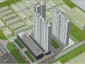 [湖北]住宅小区项目BIM三维场地布置策划