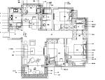 美式田园风闲庭雅居三居室住宅设计施工图(附效果图)