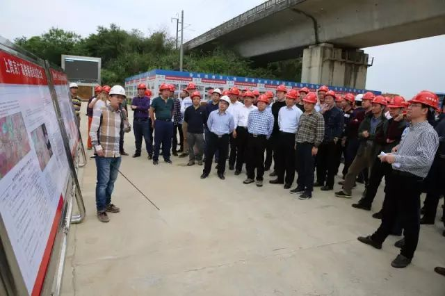 难得一见的路桥工程项目工地,看看和图集有区别吗?
