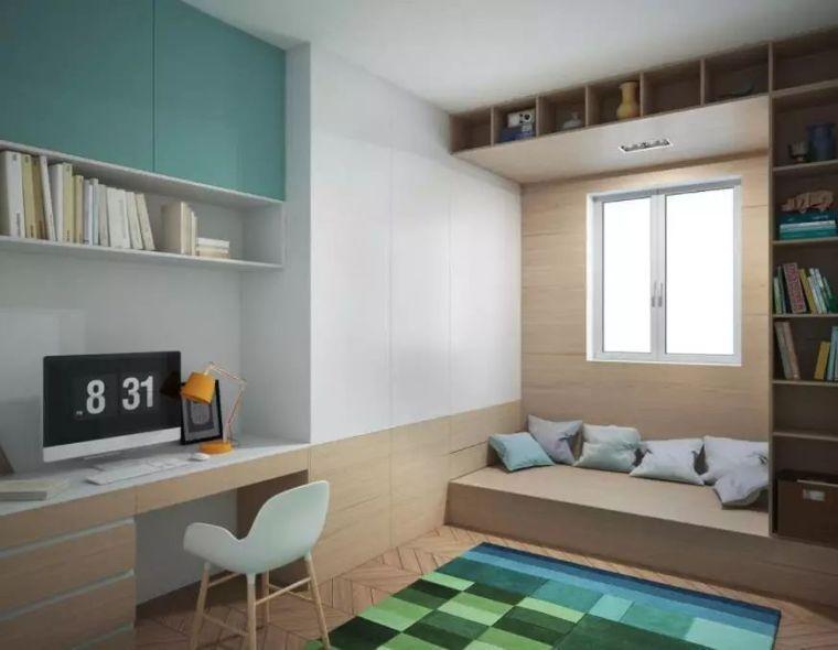 榻榻米床+柜子如何组合设计?35个案例告诉你...