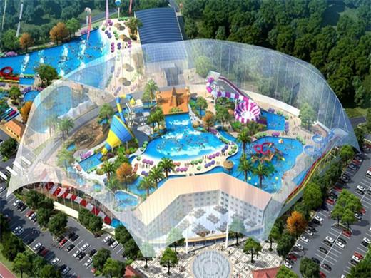 甘肃民乐建成西北最大水上乐园,总投资4.8亿元!