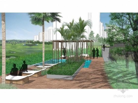 [重庆]高档悦水居住区景观设计方案