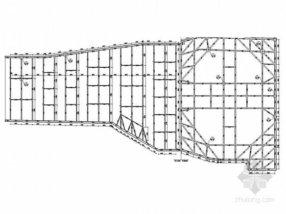 [上海]深基坑SMW工法桩加内支撑支护施工图