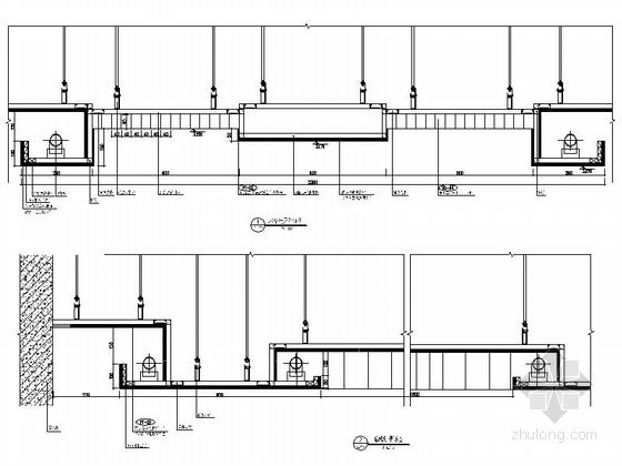 [原创]现代风格小学室内设计装修施工图(含高清效果)详图