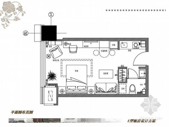 [临沂]六个户型纯净简洁样板间室内设计方案