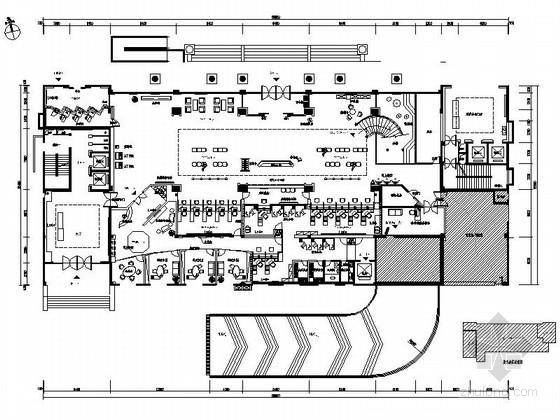 [安徽]现代农村合作银行总行营业厅装修图