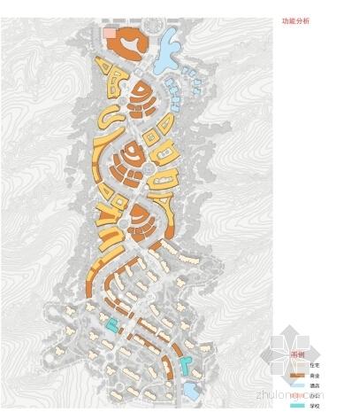 [陕西]商业综合体片区规划设计方案文本(知名设计院)-商业综合体片区规划分析图