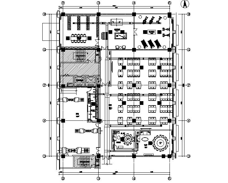 上海滨江广场暖通设计施工图