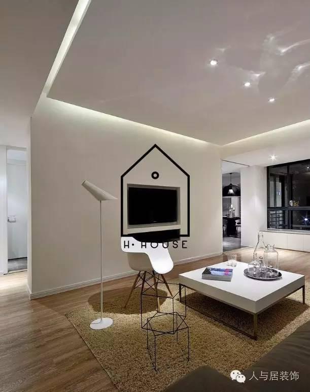 室内设计--黑白简约主义_3