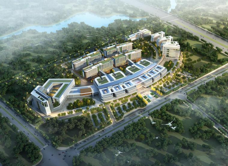 [湖南]襄阳中心医院现代风格建筑设计文本(PDF+181页)