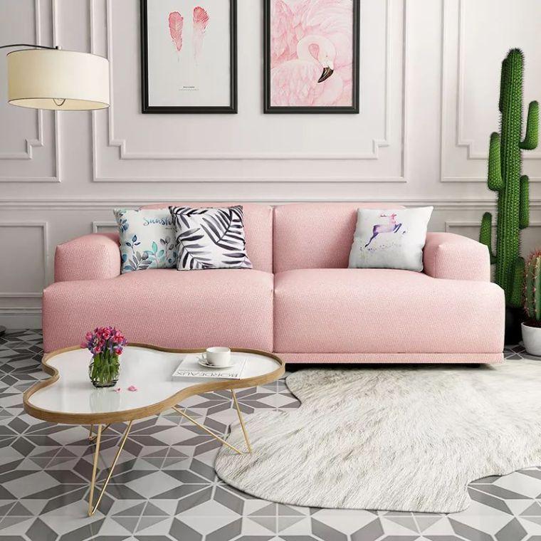 你不知道的客厅彩色沙发,给你不一样的格调。_4