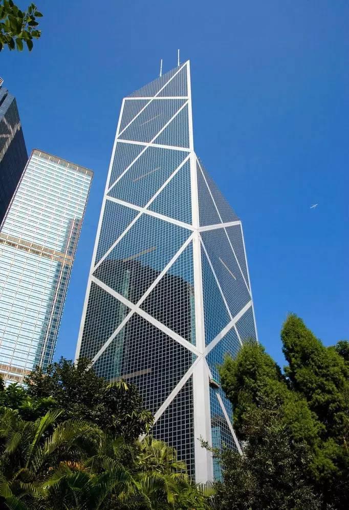 一个极致高差处理案例,贝聿铭香港中银大厦搂底景观