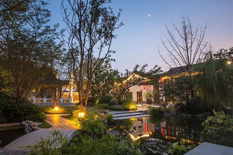 [分享]南京泰禾别墅院子私人景观普吉岛别墅图片