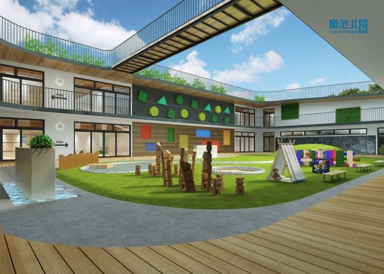 一座生态、自然的国际幼儿园