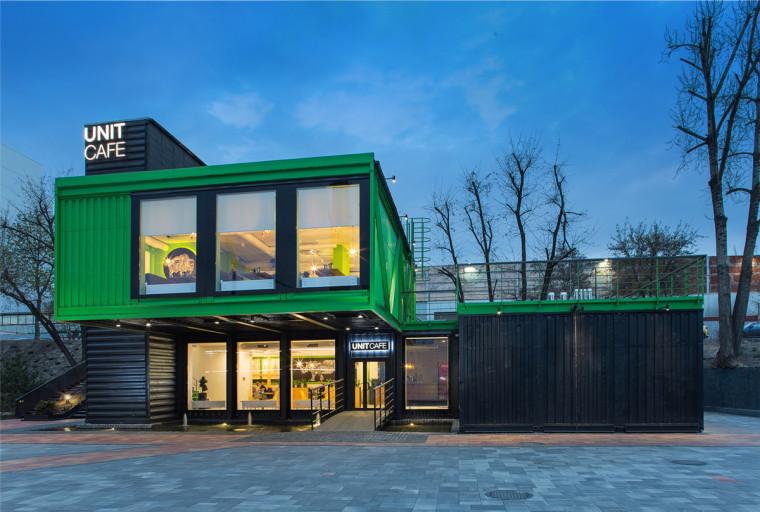 乌克兰绿色咖啡厅