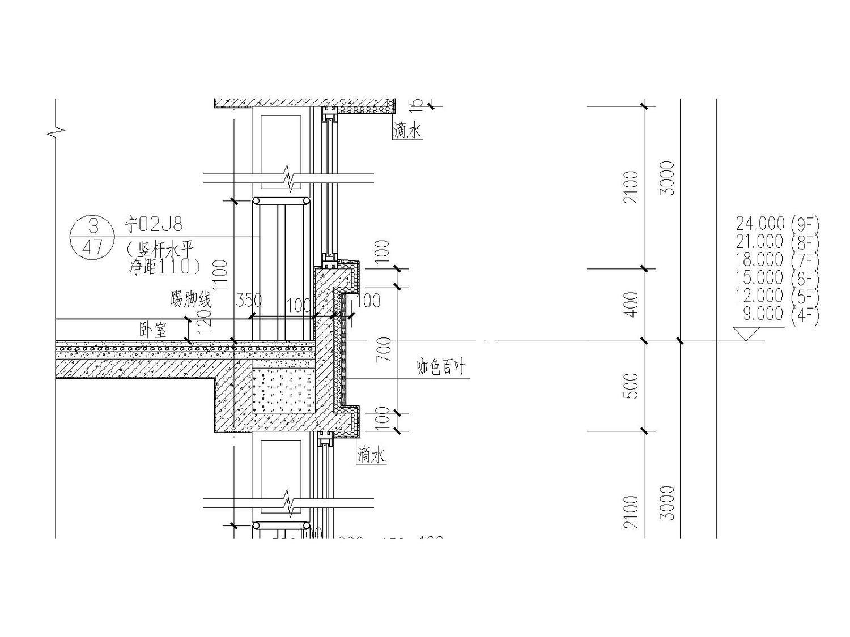 [宁夏]银川市金溪里30层小区建筑150张全套施工图(建筑、结构、水暖电应有尽有)_1