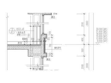 [宁夏]银川市金溪里30层小区建筑150张全套施工图(建筑、结构、水暖电应有尽有)