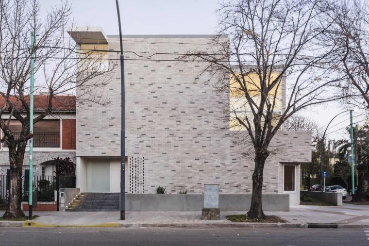 阿根廷街区角屋住宅