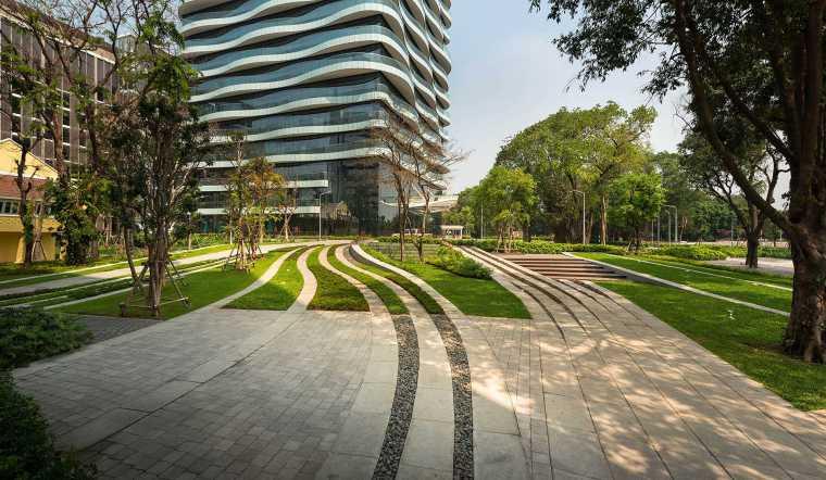 泰国SCG总部办公景观