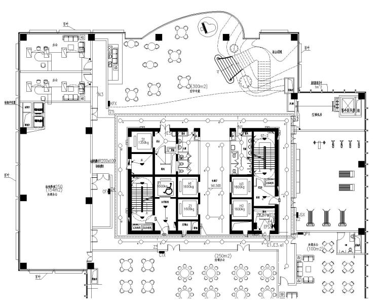 [江苏]南通大型国贸中心37层电气设计图纸(含各种弱电系统)_1