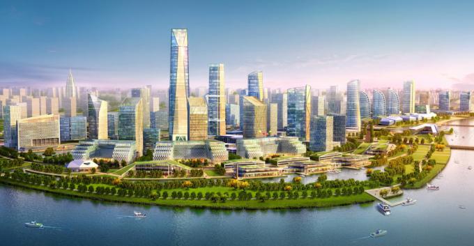 [浙江]综合型滨江生态水岸低碳创新产业城市规划设计方案(2017最新)_3