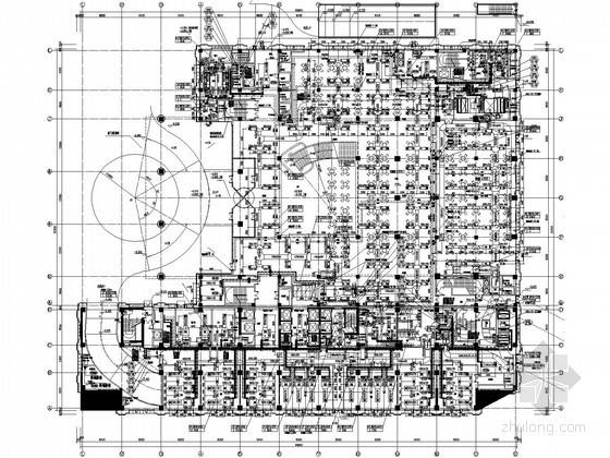 [北京]国家级会议楼暖通空调设计全套施工图(顶级院图纸大样多)