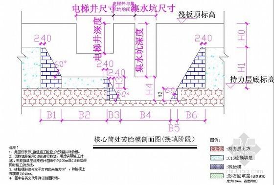 [四川]商住楼基础砖胎模专项施工方案