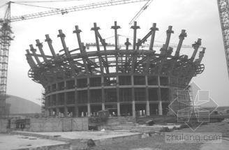 高层球体钢结构工程定位测量方案探索QC