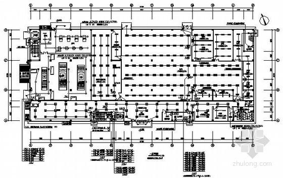 [四川]某产业园区三层厂房全套电气施工图纸