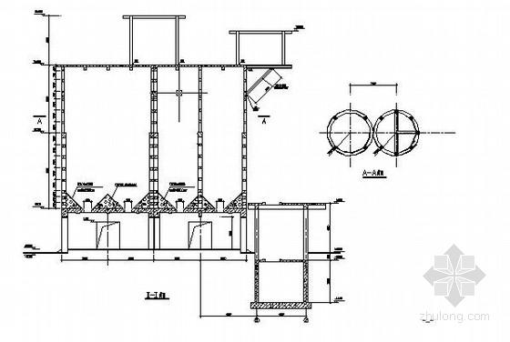 水泥厂库房及附属结构建筑结构施工图