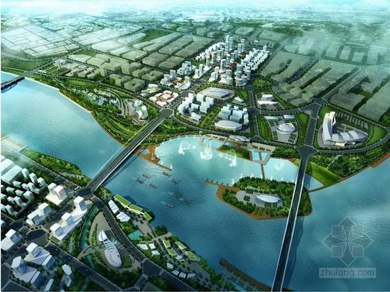 城市湿地公园景观桥及桥头广场工程专项施工方案(绿化、照明)