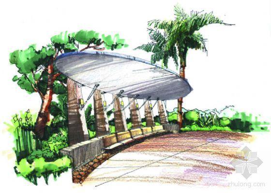 广东广州某小区环境景观设计方案-2