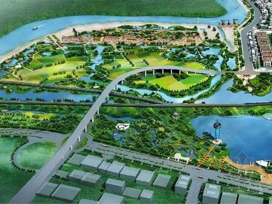 [安徽]城市滨河公园景观规划方案(国内著名设计机构)