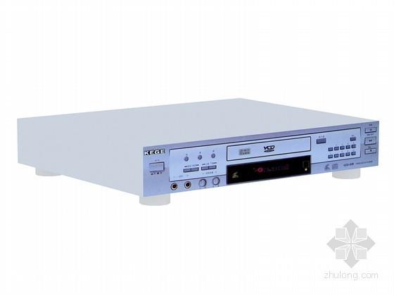 VCD播放器3D模型资料下载-老式VCD播放机3D模型下载