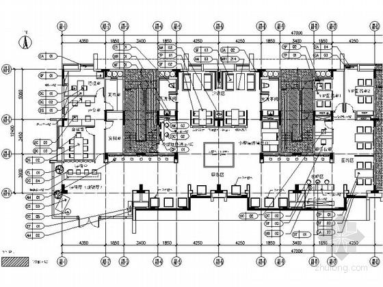 [广东]大气品质超凡售楼处室内设计施工图(全套设计文件,推荐!)