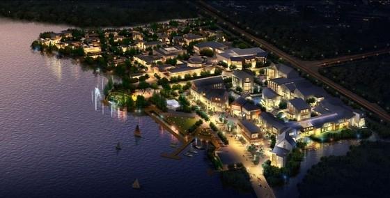 [江苏]多层高端型沿湖商业综合体建筑设计方案文本