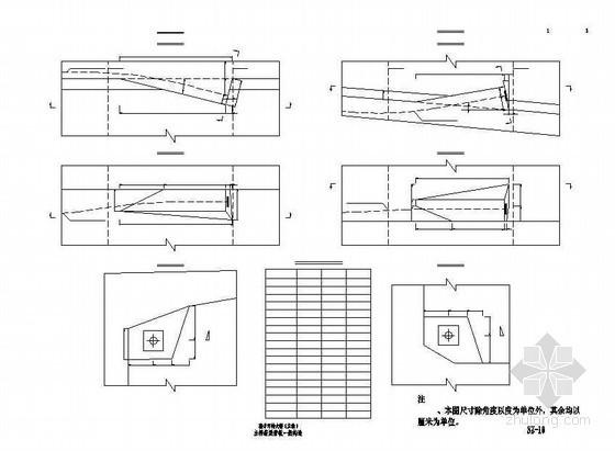 连续钢构特大桥主桥箱梁齿板一般构造节点详图设计