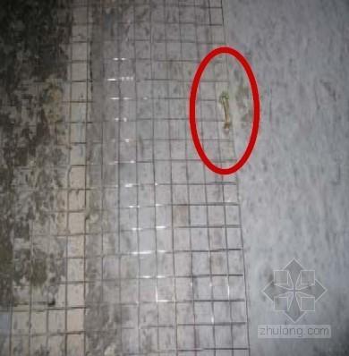 工程抹灰质量图片交底案例