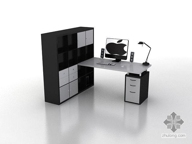 书柜写字桌