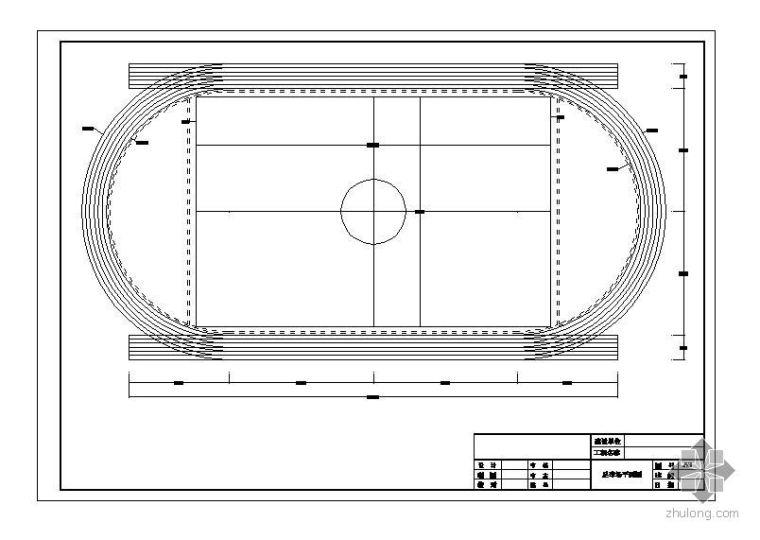 某足球场排水平面图及大样图