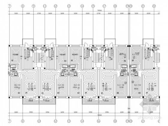 [黑龙江]住宅楼地暖系统设计施工图