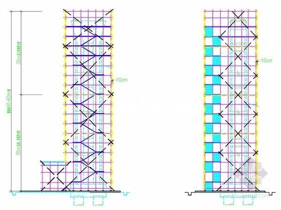 [中冶]桥梁高墩台施工方案(含扣件式脚手架计算书)