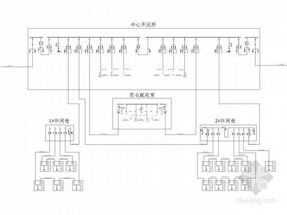 大型小区10KV变配电工程全套施工图纸(系统图、完整大样图)